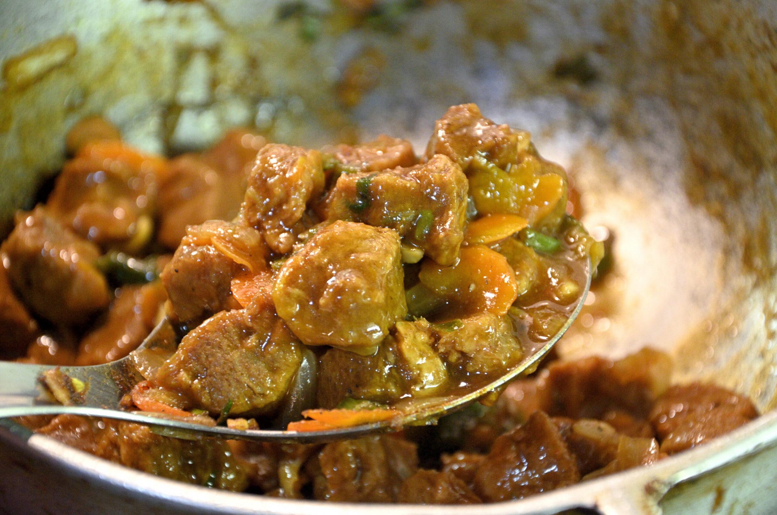 Brown Stew Veggie Chunks