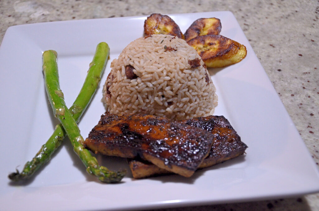 Jerk Tofu Steaks
