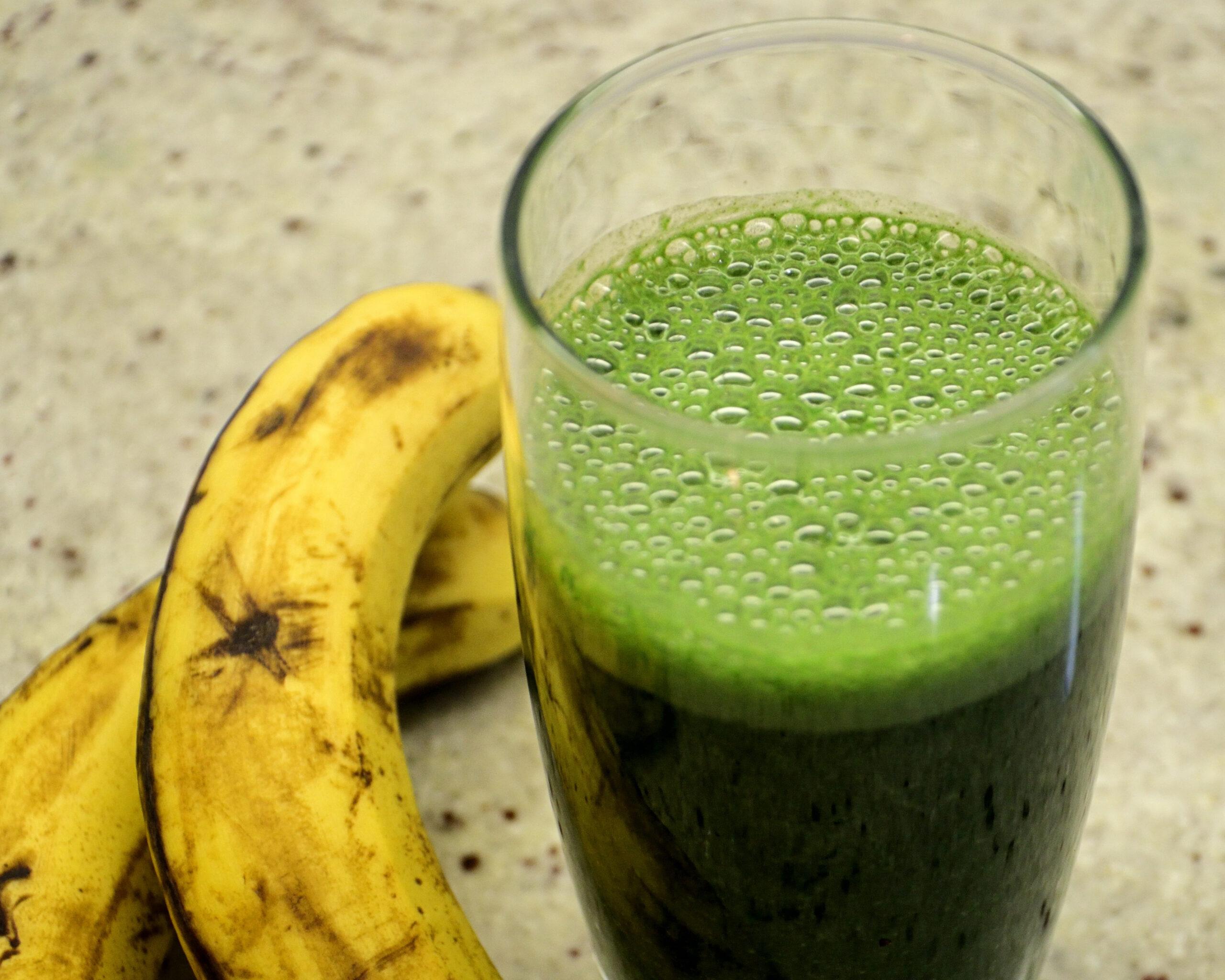 Super Green Spirulina Smoothie